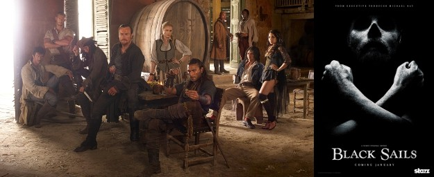 BLACK SAILS Premiere Sails Into Homes On Demand And Online