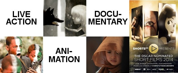 The 2014 Oscar® Nominated Short Films On Demand February 25th